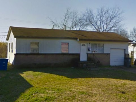 E 51st Pl N Tulsa - sideview