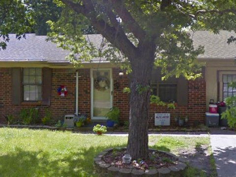 N Christy St Catoosa - front