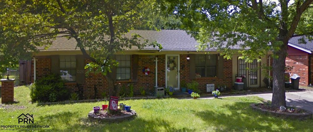 N Christy St Catoosa - front close