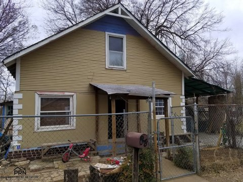 Two Story Tulsa Property - front