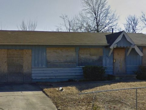 N Elwood Ave Tulsa - sideview