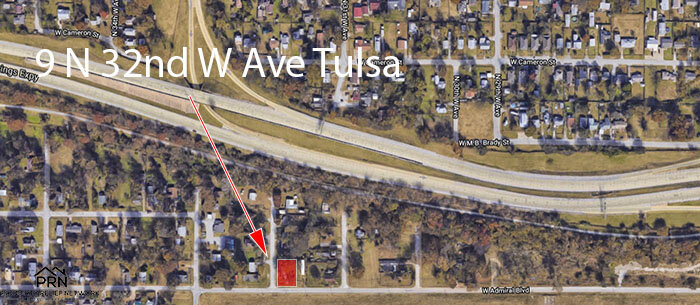N 32nd W Ave - map 3