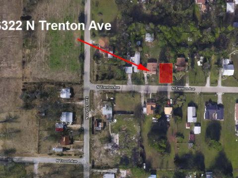 N Trenton Ave - map 2