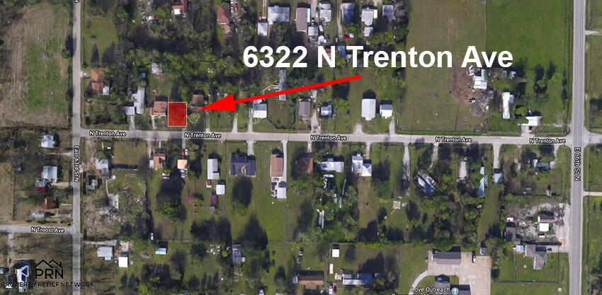 N Trenton Ave - map