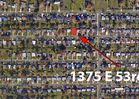 E 53rd St N - maps