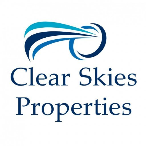 Clear Skies Prop­er­ties logo