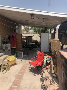 house we bought fast in Las Vegas with old owner's belongings
