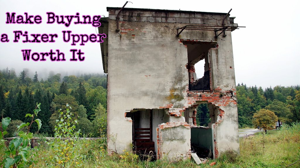 Ways to make buying a fixer upper in Cape Coral worth it for landlords and rehab real estate investors.