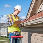 Systems in your home need to be checked and this inspector is checking the roof