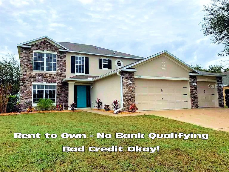 Make this Beautiful Rent to Own Home in Fruitland Park FL your home today!