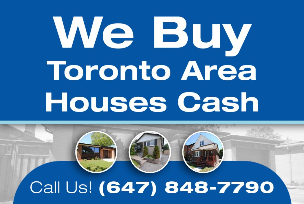 Cash for homes in Toronto. GTA House Buyers buys houses with Cash.