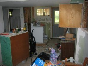 Power of Sale house-basement disaster