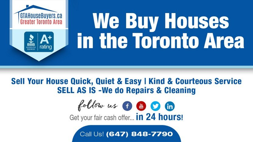 GTA House Buyers is one of Toronto's trusted quick house buyers companies.