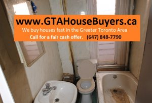 How to sell a house in bad condition in Toronto Area