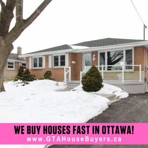 We Buy Houses Fast in Ottawa