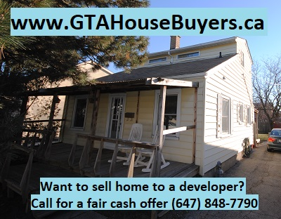 How to sell home to developer