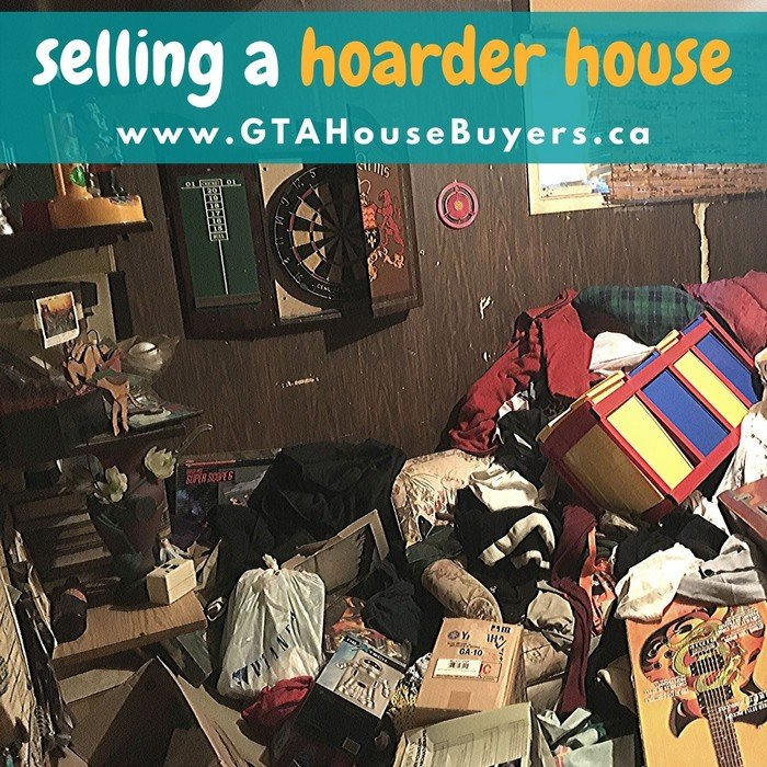 Selling a hoarder house in Ontario
