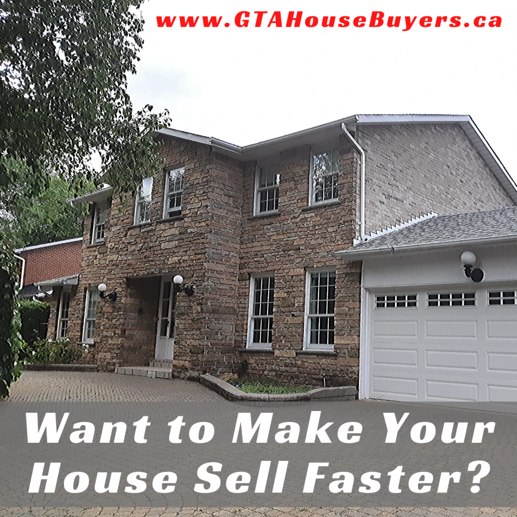 How to make your house sell faster in Ontario