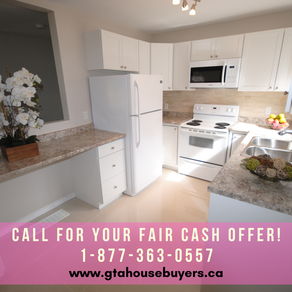 Cash offer on a house Ontario