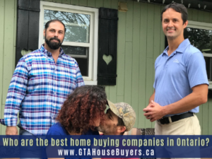 Who are the best home buying companies in Ontario and how do I find them?