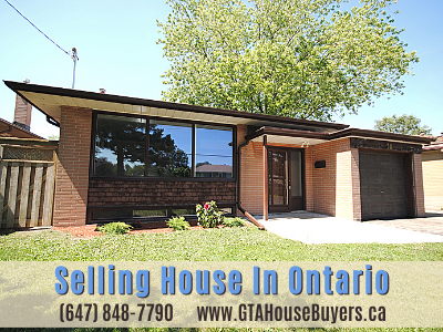 Selling house in Ontario