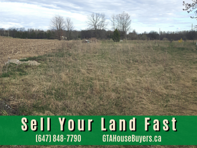Sell land fast Ontario