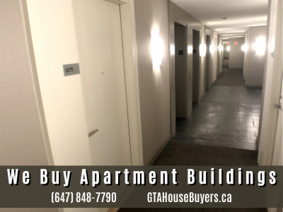 selling an apartment building in Canada