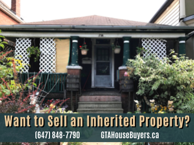 Selling an Inherited House in Canada