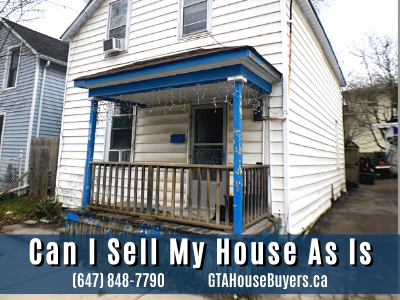 Can I sell my house as-is in Ontario