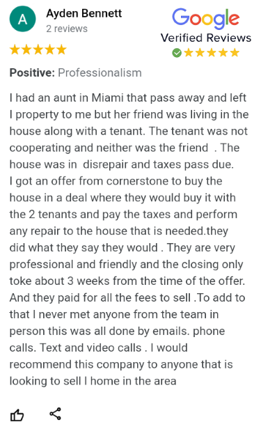 Sell Miami House for Cash and Fast