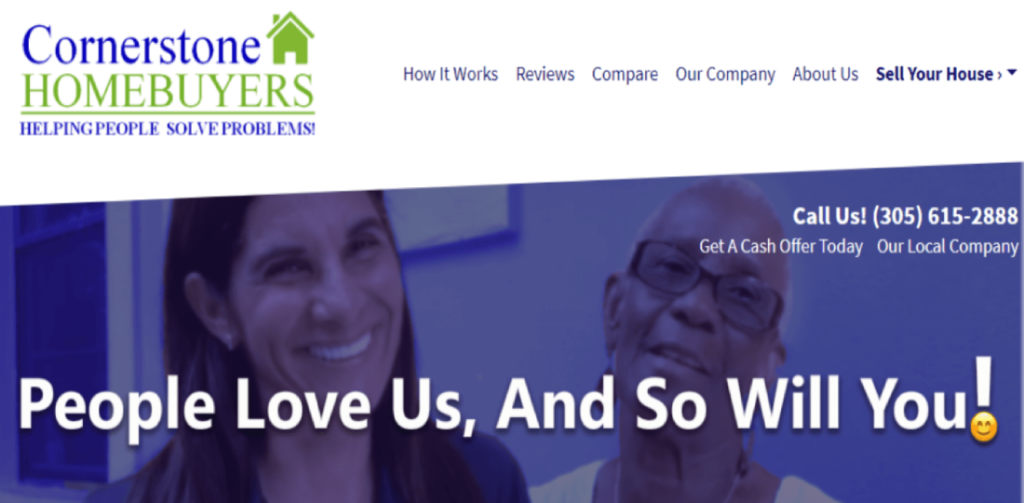 Cornerstone Homebuyers | Cash For Your Florida House - Reviews Hero SS