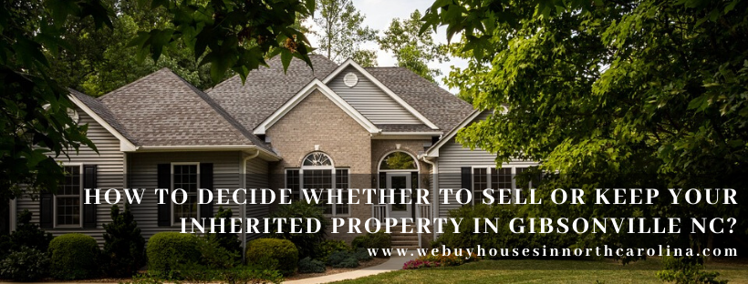 We buy properties in Gibsonville NC