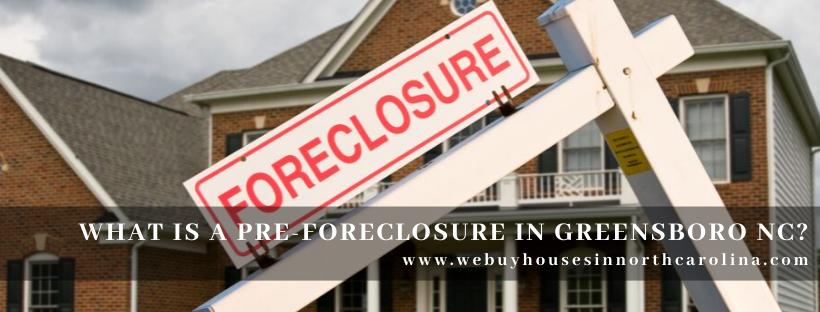We buy properties in Greensboro NC