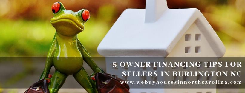 We buy properties in Burlington NC