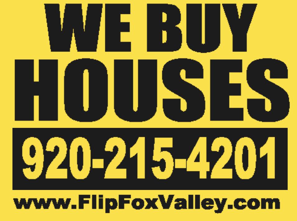 We Buy Houses Oshkosh