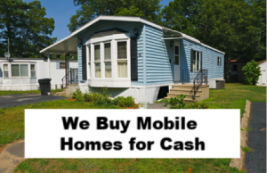 we buy mobile homes appleton wi