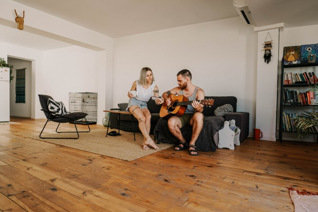 living room - tips for first time homebuyers - guide