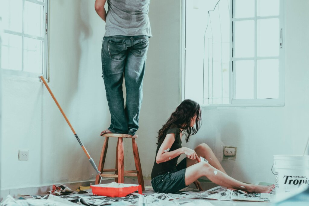 5 Simple Upgrades You Can Do To Increase Your Home Value in Cincinnati or Northern Kentucky - painting walls