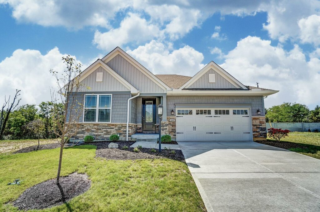 new construction in anderson township - ranch home - home builders