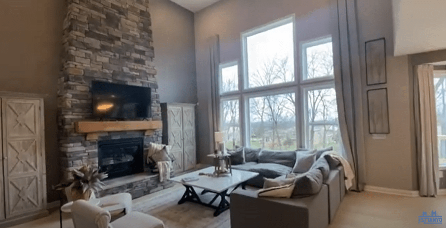 New Construction Home Features in West Chester- Living Room