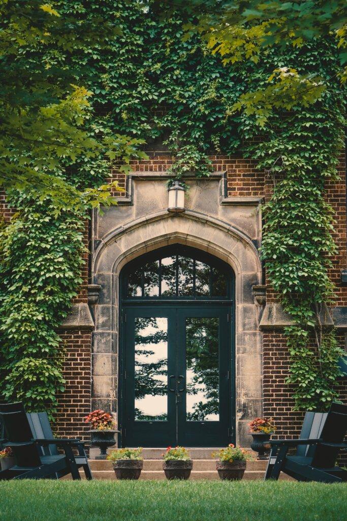 A Springtime Open House - Door Entry