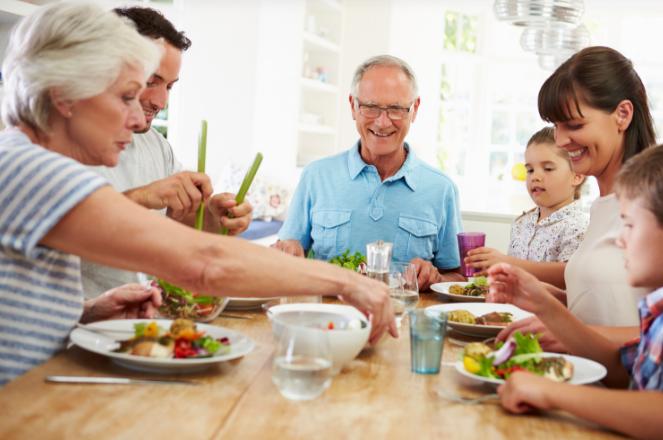 Multigenerational Home- Grandparents