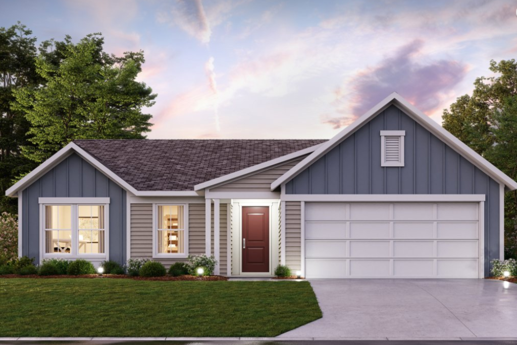 preston by fischer homes - new construction homes in independence ky - greenbrook