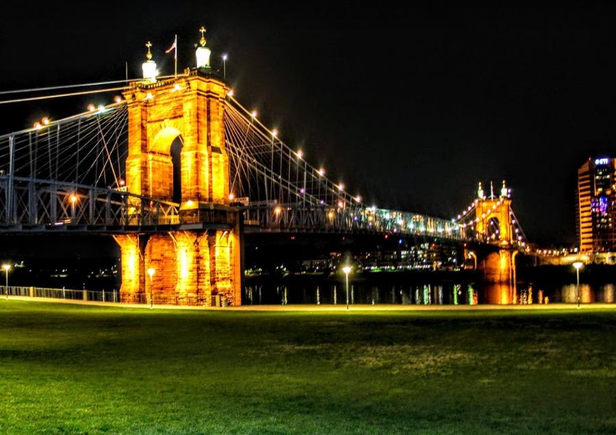 Best Cincinnati Aprks- Bridge