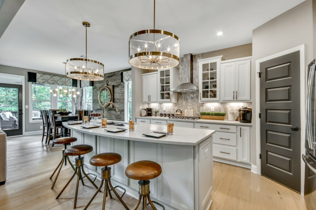 New Home Buying Process with Fischer Homes -  kitchen
