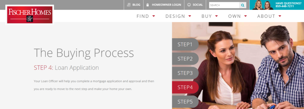 New Home Buying Process with Fischer Homes - Step 4