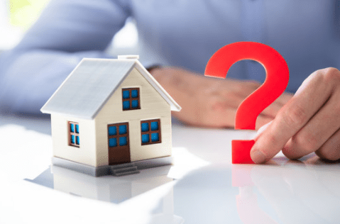 Why You Need to Sell Your House Now- House/Question Mark