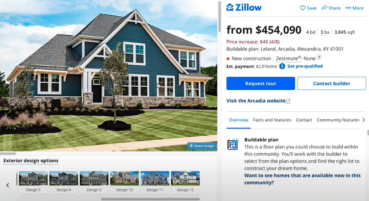 Who else wants MORE house for LESS money? Cincy COST OF LIVING Benefits - New construction