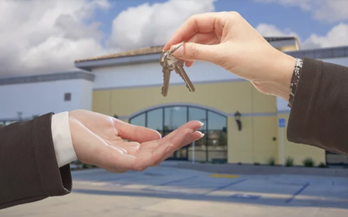 Buying Commercial Property- Handing the keys