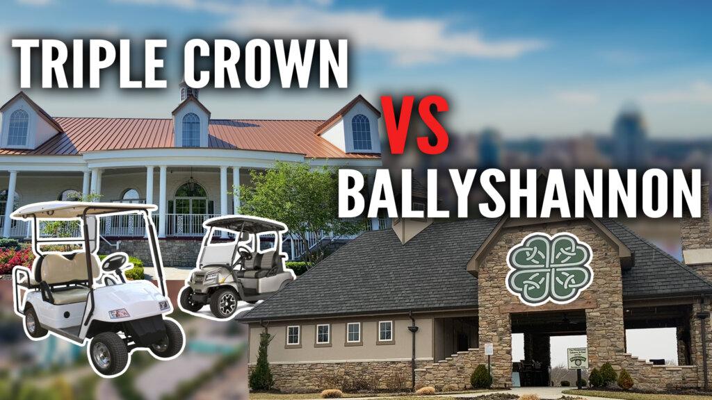 Triple Crwon VS Ballyshannon - Comparing